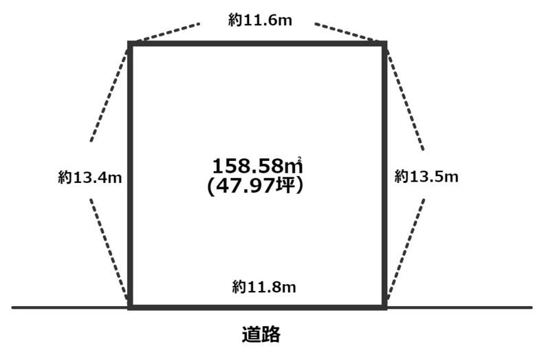 売買 姫路 飾磨区高町 売土地1