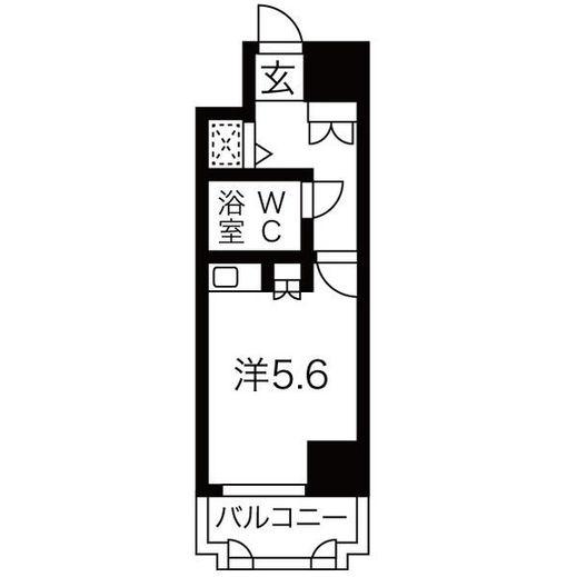 賃貸 姫路 藤和シティコア姫路駅前 分譲貸3