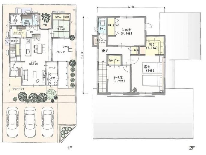 売買 新築 城東 五軒屋 戸建 モデルハウス3