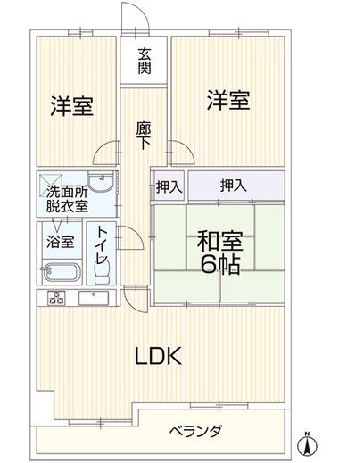 売買 姫路 クリーンピア構 中古マンション3