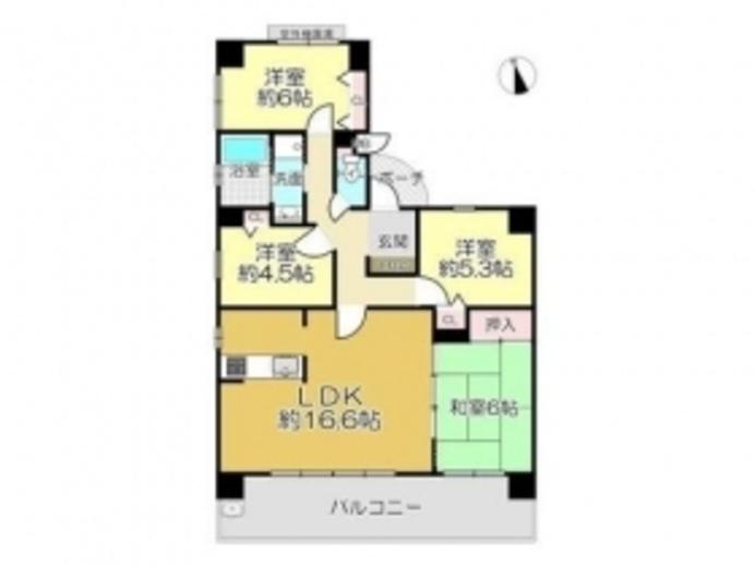 売買 姫路 サンヒルズ壱番館 中古マンション3