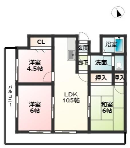 賃貸 姫路 シティーオデオン マンション3