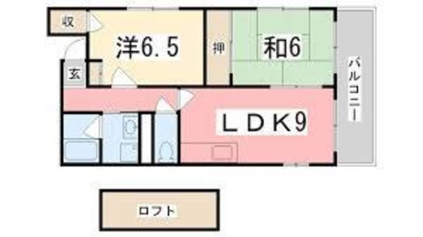 賃貸 姫路 アベニュー小利木 マンション3