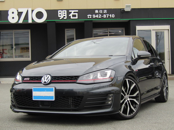 VWゴルフ GTIパフォーマンス 500台限定 ナビTV ローダウンサス