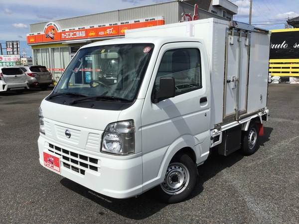 冷蔵冷凍車-25℃設定表示 左サイドドア 樹脂スノコ オートマ車