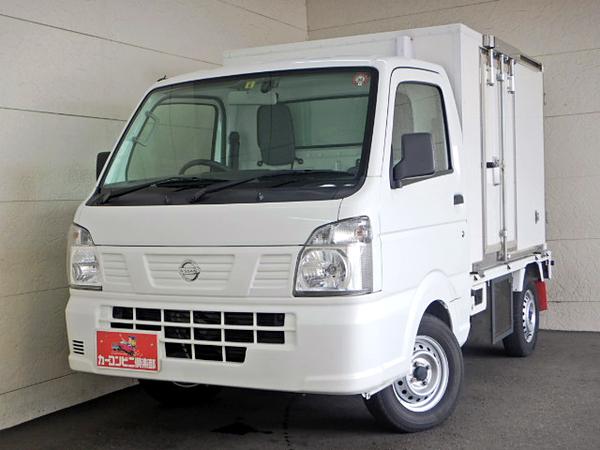 冷蔵冷凍車 日章冷凍-25度設定 左サイドドア ツインコンプレッサー オートマ車