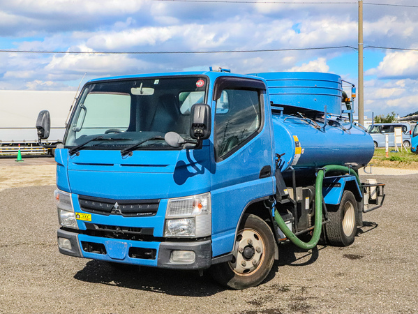 H24年☆3トン/2700L/バキュームカー/糞尿車/モリタ