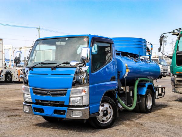 H24年☆3t バキュームカー 容量2700L! 糞尿車 モリタ