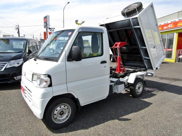 PTO式深底清掃ダンプ 5MT 4WD ETC付き