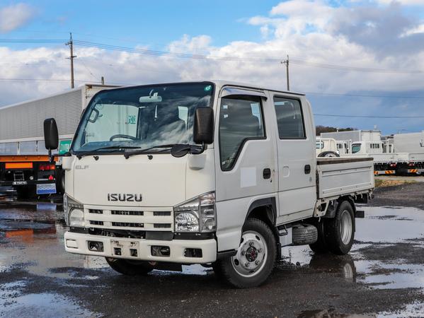 H21年☆4WD/1.5t/Wキャブ/平ボディ/MT/全低床/ダブルキャブ/2t