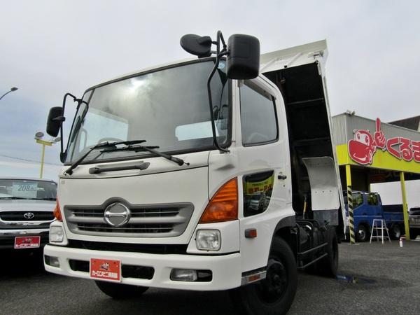 極東製4トン強化ダンプ 電動コボレーン 6MT 排ガス浄化装置