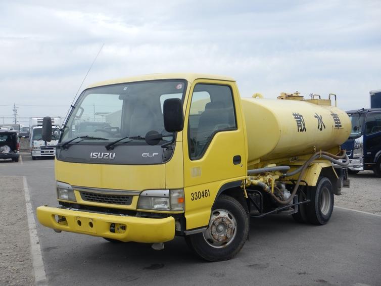散水車 4000L 極東開発 6MT