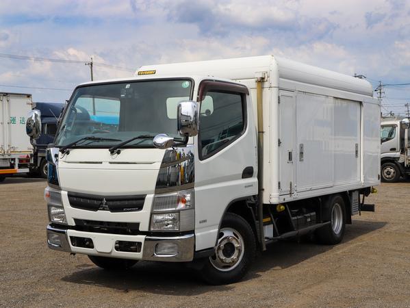 H26年☆2t ボトルカー 冷凍機付 4WD AT 標準セミロング