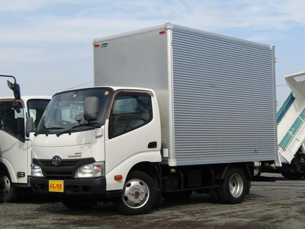トヨエース アルミバン 4WD 積載2t 全低床