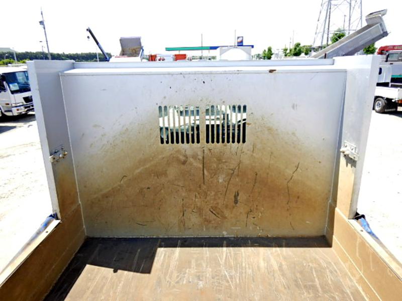 いすゞ フォワード ダンプ 電動コボレーン リアアオリ砂切り 3.8t 3人乗 6MT