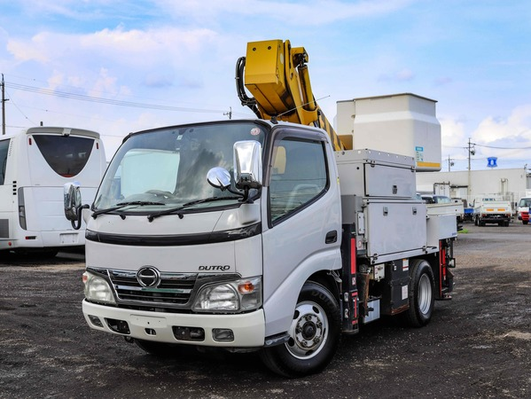 H20年☆高所作業車 10m アイチ SH10A FRPバケット! 電工仕様