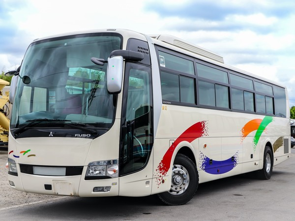 H27年☆大型観光バス/ハイデッカー/50人乗り/カスタム内装