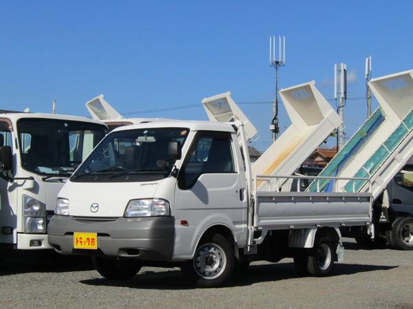 ボンゴトラック 平ボディー 積載量1トン リアWタイヤ AT