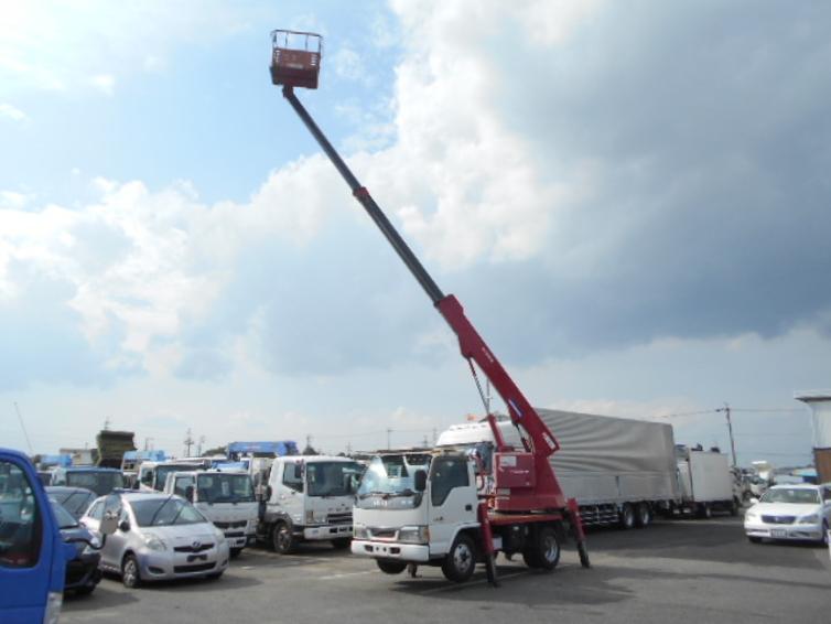 高所作業車 11.9M 鉄バケット アイチ 5MT