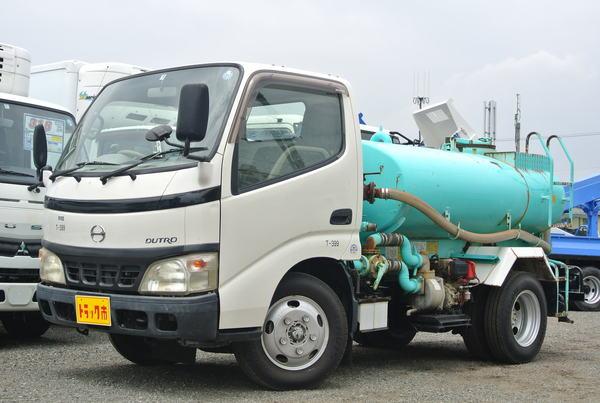 散水車 サブエンジン式 極東開発 5MT