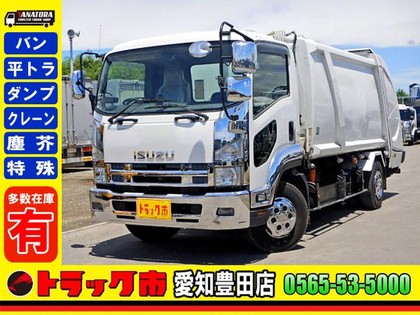 パッカー車 プレス式 増トン 10立米 フジマイティー 6MT