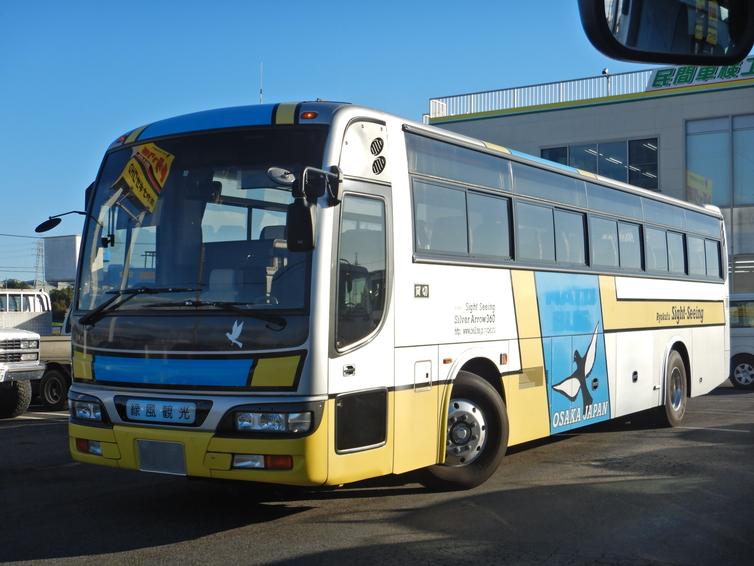 大型観光バス 57人乗り 総エアサス ハイデッカー 6MT