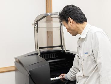 デザイン・機構設計後 3Dプリンターにて短納期で形状確認が可能です。