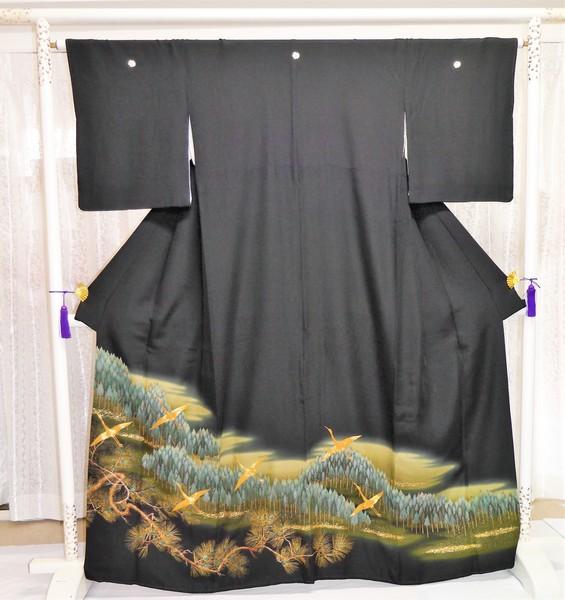 【留袖】016   留袖フルセットレンタル(着付は含まず) ¥25,000(税別)