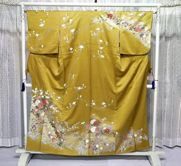 【訪問着】006  訪問着フルセットレンタル(着付は含まず) ¥20,000(税別)