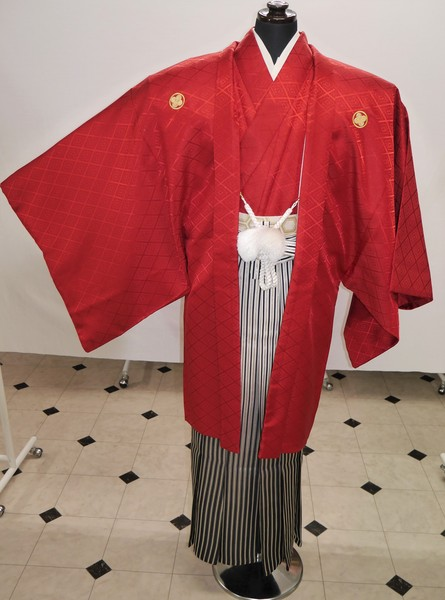 【紋付き袴】 紋付き袴フルセットレンタル 着付込み   ¥37,800(税別)